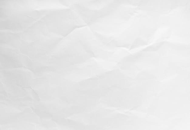 Witte rimpel recycle papieren achtergrond