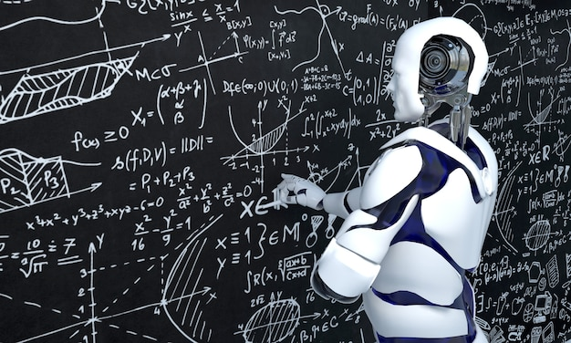 Witte robottechnologie werkt aan wiskunde