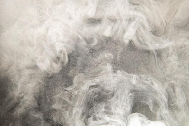 Witte rookachtergrond, gestructureerd behang in hoge resolutie