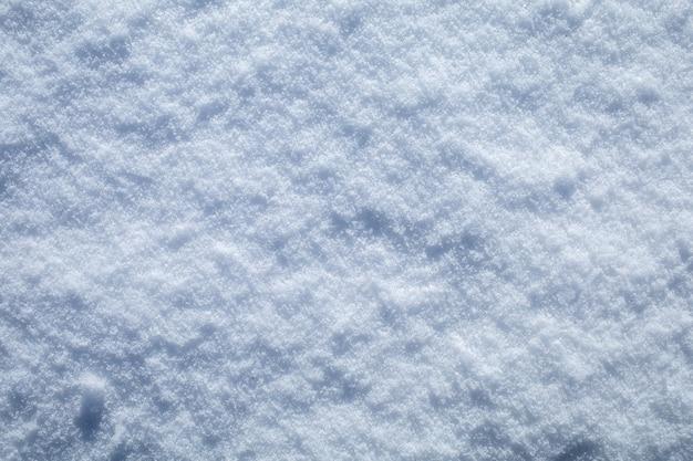 Witte sneeuw close-up textuur achtergrond