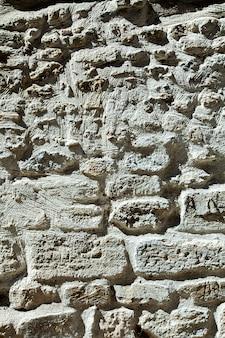 Witte stenen muur achtergrond textuur