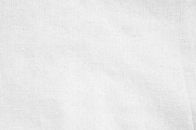 Witte stof katoenen canvas textuur achtergrond