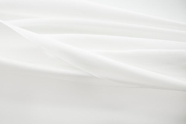 Witte stof textuur achtergrond ontwerpelement