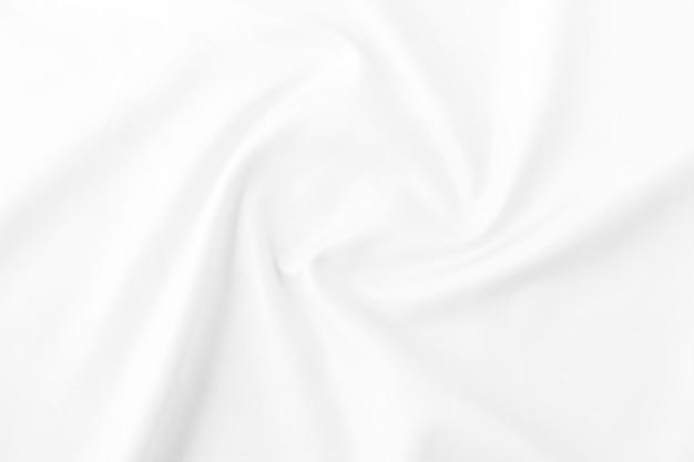 Witte stof textuur achtergrond. voor het patroon in advertentieontwerp of als achtergrondafbeelding