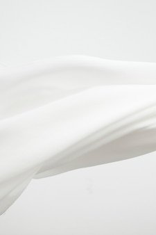 Witte stof textuur achtergrond