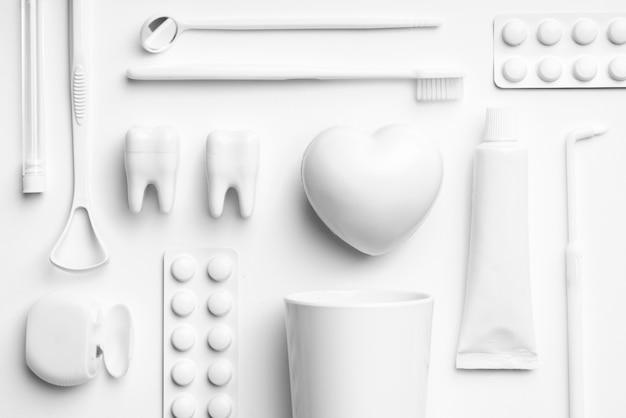 Witte tandheelkundige zorg apparatuur