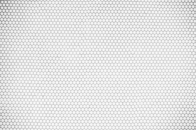Witte tegelsmuur