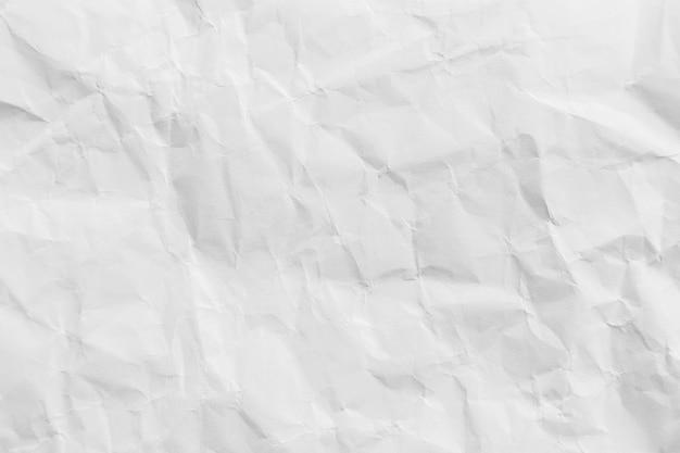 Witte verfrommeld gerecycleerd papier textuur achtergrond voor design