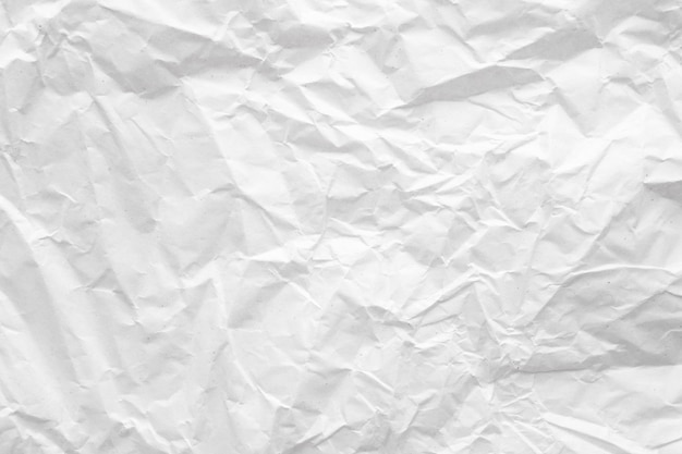 Witte verfrommeld papier abstract
