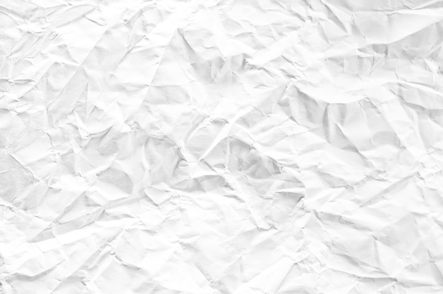 Witte verfrommeld ruimtedocument gestructureerde achtergrond