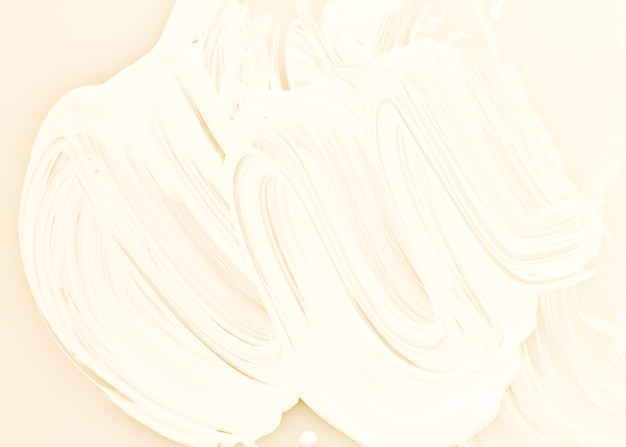 Witte verftextuur met patroon