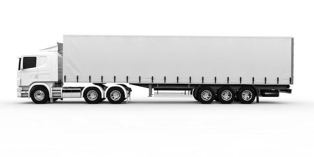 Witte vrachtwagen