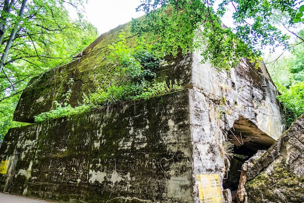 Wolf's lair - adolf hitler's eerste militaire hoofdkwartier aan het oostfront in de tweede wereldoorlog