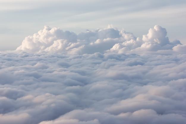 Wolken, schoonheid van de natuur in thailand