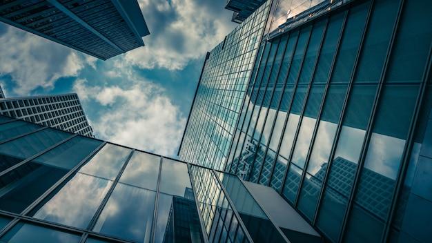Wolkenkrabber commercieel gebouw