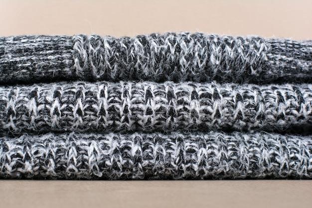 Wollen stof textuur achtergrond