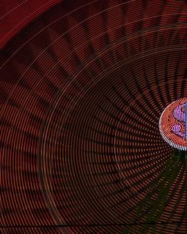 Wonderwielen van het close-upwiel met gloeilamp
