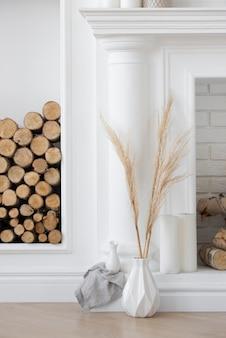 Woonplant in vaasdecoratie assortiment