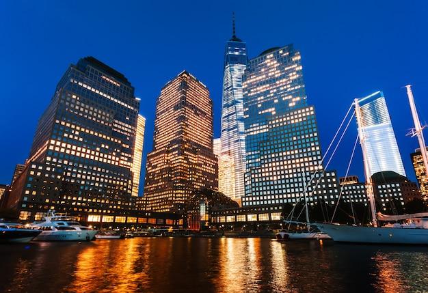 World financial center 's nachts