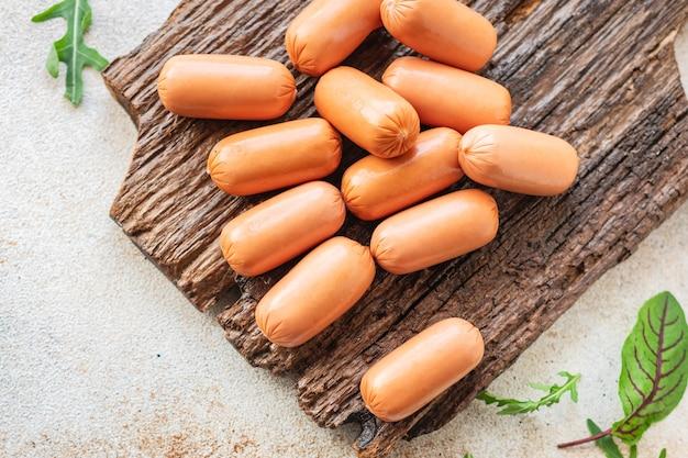Worst vlees mix varkensvlees rundvlees lam kip fastfood snack