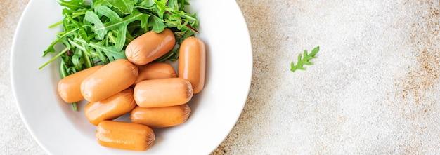 Worsten soja seitan plantaardig eiwit trend dieetmaaltijd