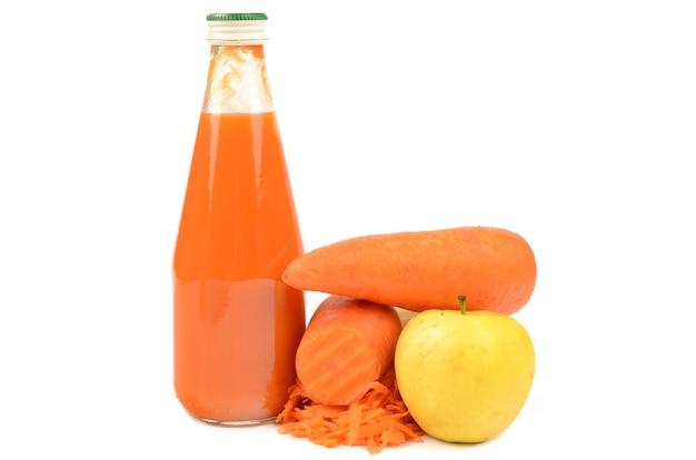 Wortel en appelsap