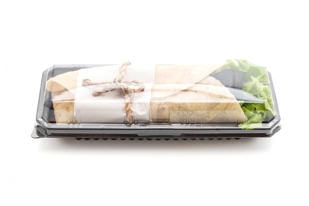 Wrap salade roll