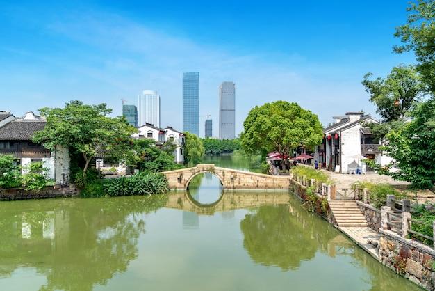 Xuntang ancient town in wuxi