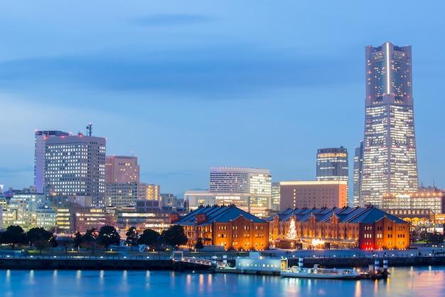 Yokohama skyline-gebouw