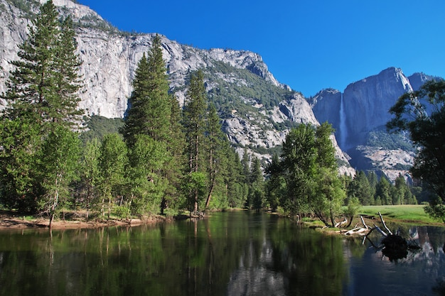Yosemite nationaal park in californië, verenigde staten