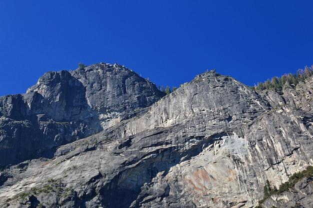 Yosemite nationaal park in californië, verenigde staten