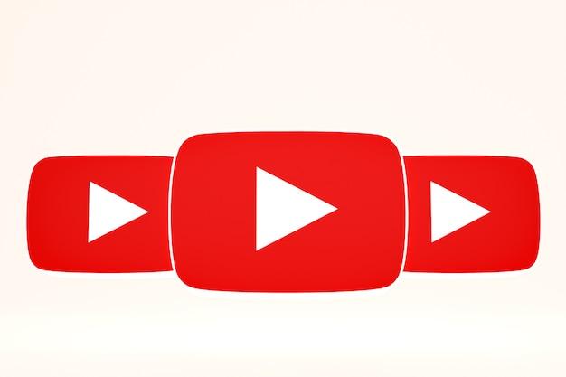 Youtube-logo ingesteld