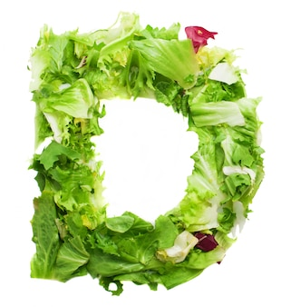 Yummy letter d