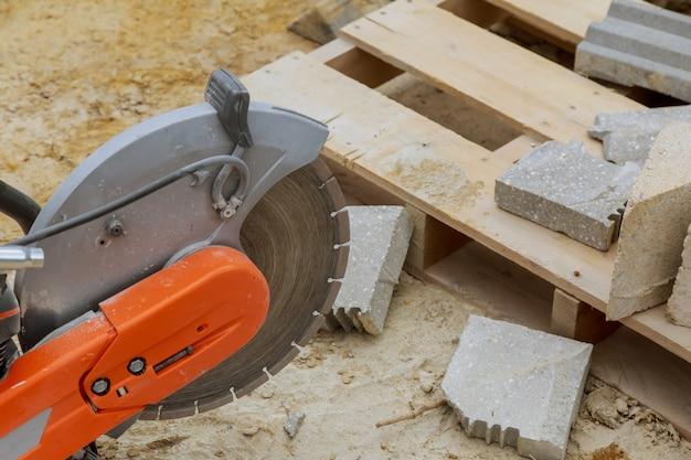 Zaagmachine voor het zagen van marmeren steen