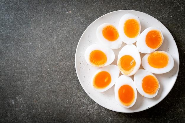 Zacht gekookte eieren