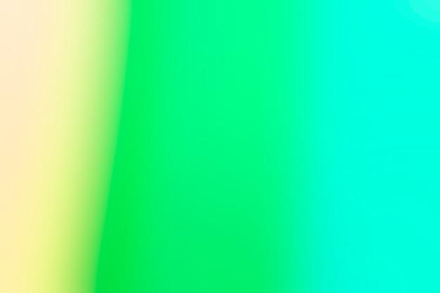 Zacht mengen van blauw en groen