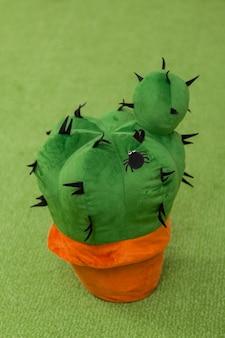 Zacht stuk speelgoed cactus