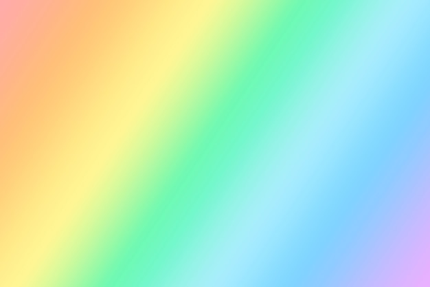 Zachte en delicate iriserende lichte achtergrond. lgbt-symbool achtergrond met kleurovergang.