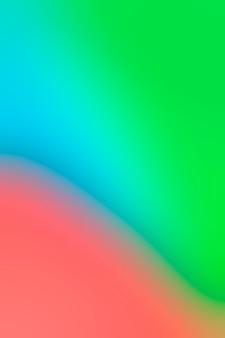 Zachte schaduwen van heldere kleuren