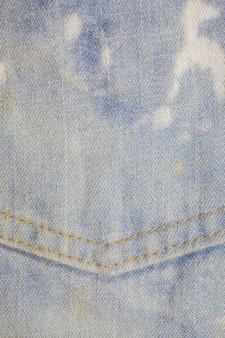 Zak blue jeans gestructureerde achtergrond. Premium Foto