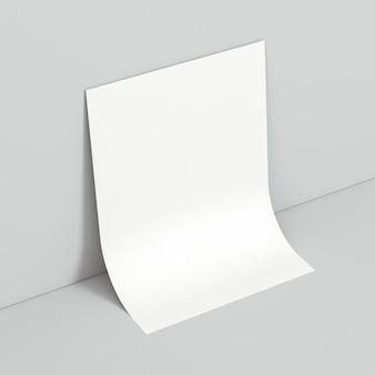 Zakelijk briefpapier blanco visitekaartje
