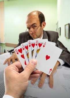 Zakelijk poker