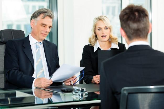 Zakelijk - sollicitatiegesprek