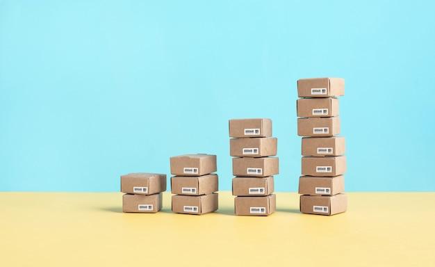 Zakelijke e-commerce of online winkelconcepten