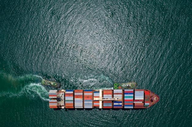 Zakelijke en verschepende vrachtcontainers