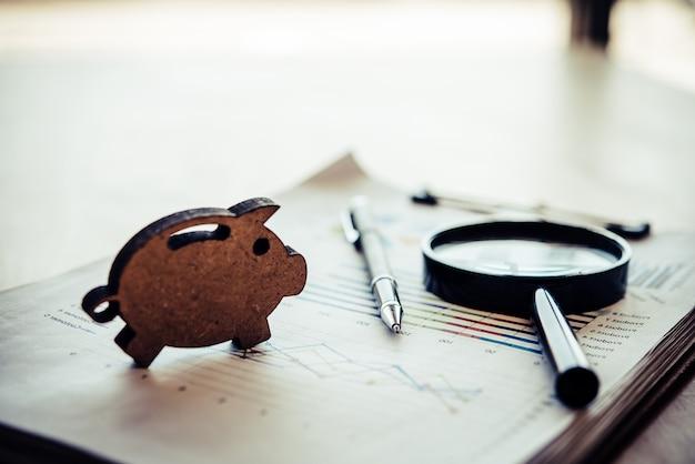 Zakelijke financiële planning financiële analyse voor bedrijfsgroei