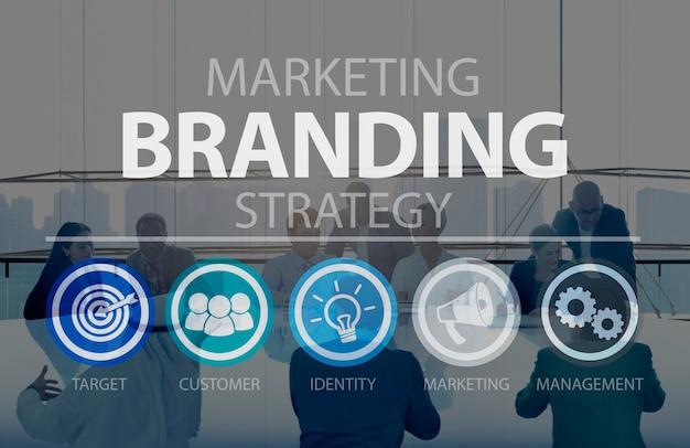 Zakelijke marketingstrategie