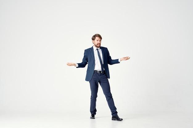 Zakenlieden manager professionele lichte achtergrond