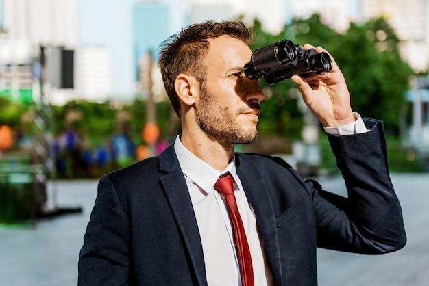 Zakenman binoculars vision strategy the way forward concept