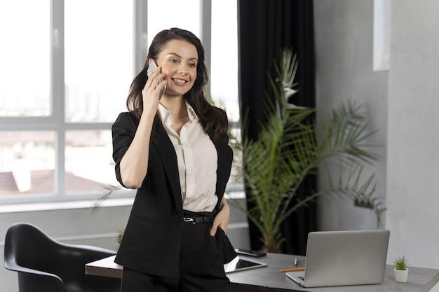 Zakenvrouw op het werk